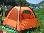 超簡単テント!